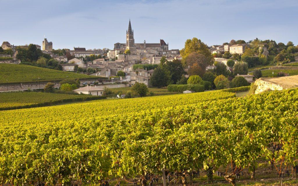Bordeaux. Una panoramica mozzafiato di paesaggi viticoli