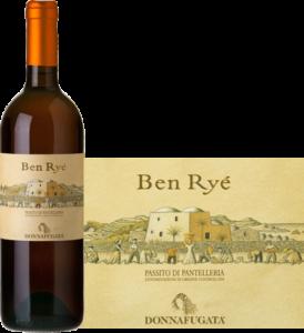 Ben Ryé, bianco Naturale Dolce - Passito di Pantelleria DOC, uve di Zibibbo (Moscato d'Alessandria)