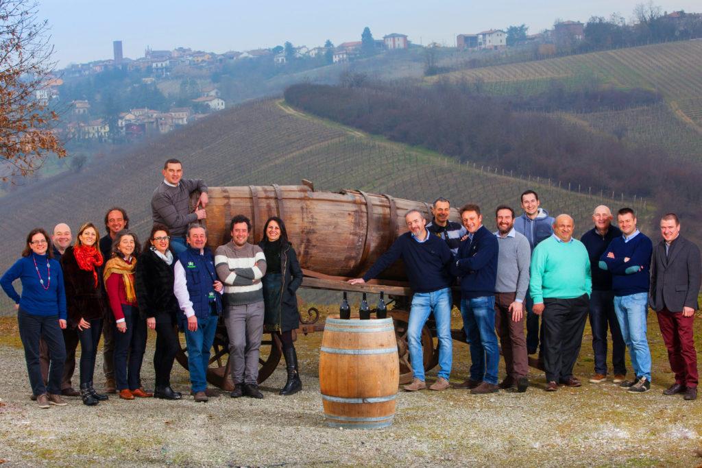 I 19 produttori della Bonarda. Foto © Cristian Castelnuovo