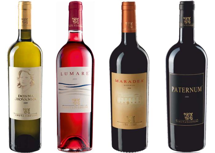 I vini premiati della Tenuta Iuzzolini