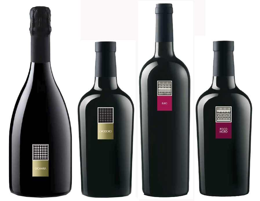Mesa. Special Wines: Gioiamia, classic method, quality sparkling wine, brut style, Orodoro, white wine from semi-dried grapes. Red Wines: Buio, red wine Carignano del Sulcis D.o.c, Poco Moro, red wine Cannonau di Sardegna D.o.c