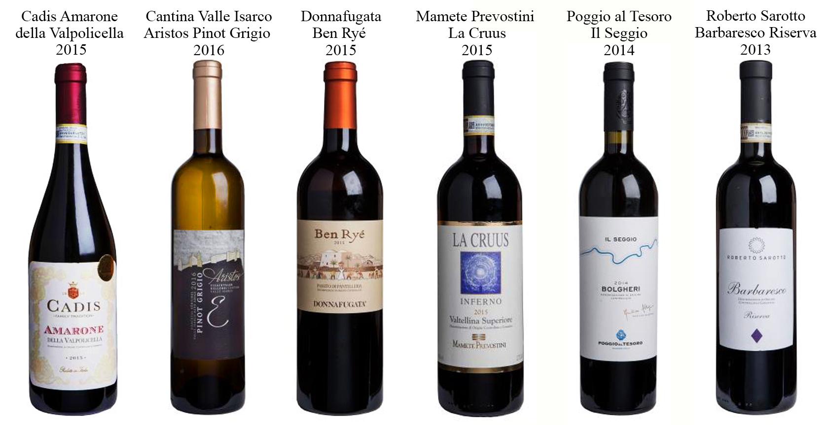 I 6 migliori vini italiani del 2018 secondo i decanter for Nomi dei politici italiani